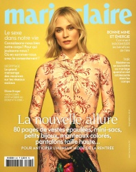 Diane Kruger -             Marie Claire Magazine (France) September 2019.
