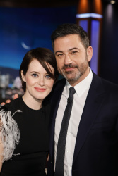 Claire Foy - Jimmy Kimmel Live: January 10th 2019