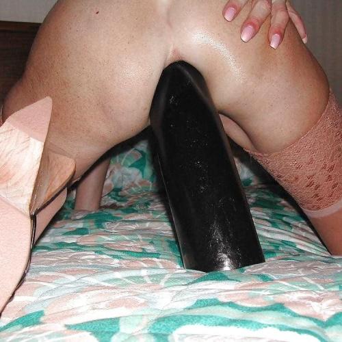 Teen brutal anal dildo