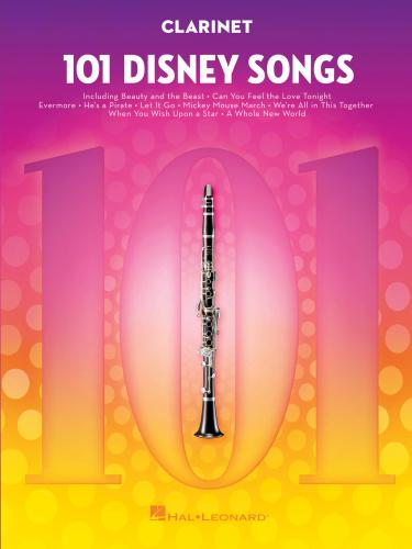 Hal Leonard 101 Disney Songs For Clarinet (2018)