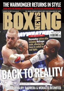 Boxing News  August 31 (2017)