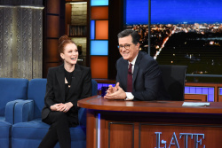 Julianne Moore - The Late Show with Stephen Colbert: March 4th 2019