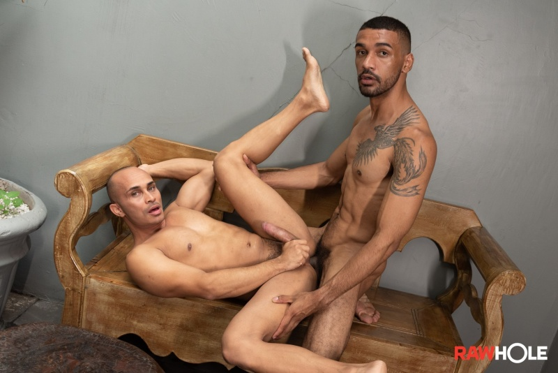 RawHole: Kaliu Gets Lucky with Gus (Bareback)