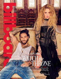 Shakira -                                  Billboard Magazine April (2018).
