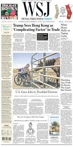 The Wall Street Journal - 23 11 2019 - 24 11 (2019)