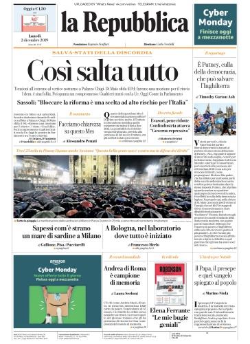 la Repubblica - 02 12 (2019)