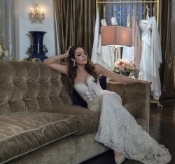 Elizabeth Gillies Looking Hot in a Wedding Dress - Dynasty S02 E07 Promo - November 2018