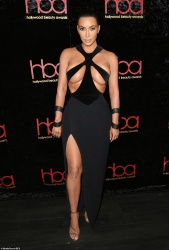 Kim Kardashian at the 5th Annual Hollywood Beauty Awards in Hollywood, CA - 2/17/19