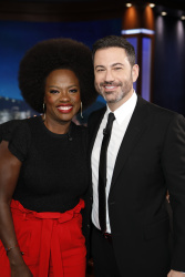 Viola Davis - Jimmy Kimmel Live: January 29th 2019