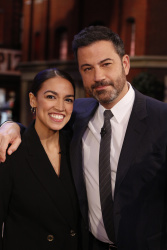 Alexandria Ocasio-Cortez - Jimmy Kimmel Live: October 17th 2018