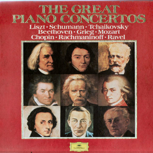 The Great Concertos   26 Compositions From The Masters   Top Orchestras   (1971)