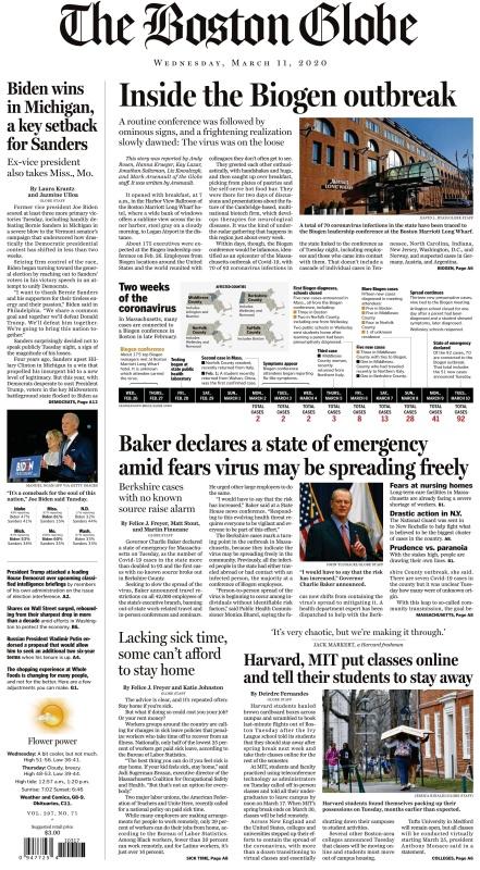 The Boston Globe - 11 03 (2020)