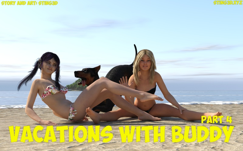 Vacations with Buddy part 4