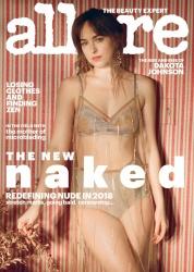 """Dakota Johnson -              """"Allure Magazine"""" February 2018."""