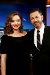 Miranda Kerr - Jimmy Kimmel Live: February 6th 2018