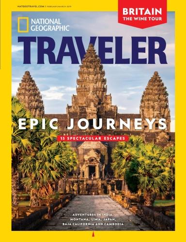 National Geographic Traveler USA 02 03 2019