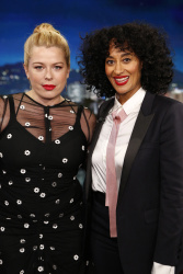 Amanda de Cadenet - Jimmy Kimmel Live: December 5th 2017