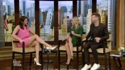 Nina Dobrev - Live with Kelly & Michael 2019-02-28