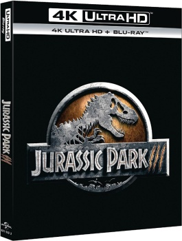 Jurassic Park III (2001) Full Blu-Ray 4K 2160p UHD HDR 10Bits HEVC ITA DTS 5.1 ENG DTS-HD MA 7.1 MULTI