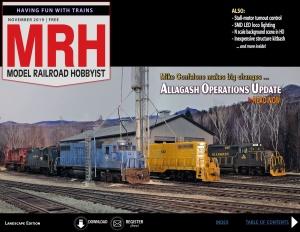 Model Railroad Hobbyist - November (2019)