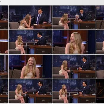 Amanda Seyfried - Jimmy Kimmel Live 2011-03-02