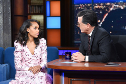 Kerry Washington - The Late Show with Stephen Colbert: October 29th 2018