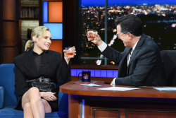 Diane Kruger - The Late Show with Stephen Colbert: December 13th 2018