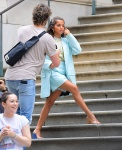Isabela Moner showing her beautiful feet in public, celebrity feet, foot fetish pictures at Karina's Foot Blog