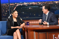 Tessa Thompson - The Late Show with Stephen Colbert: June 11th 2019