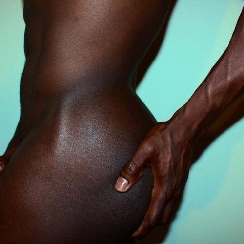 Sexy black male nude