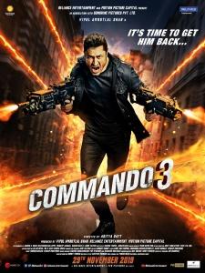 Commando 3 (2019) Hindi 720p PreDVD Rip x264 AAC 1 2GB CineVood Exclusive