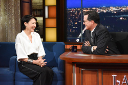 Ann Curry - The Late Show with Stephen Colbert: January 22nd 2018