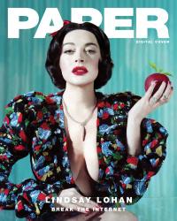 Lindsay Lohan - Jeff Bark Photoshoot For Paper Magazine - December 2018