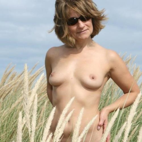 Nudist mature wife