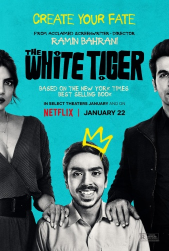 The White Tiger (2021) 720p WEB-DL x264 Hindi+Multi DD5 1-DUS Exclusive
