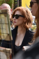 Jessica Chastain - walking around Batman Alley in São Paolo 12/9/18