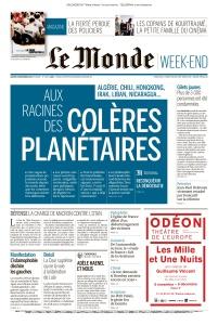 Le Monde - 09 11 (2019)