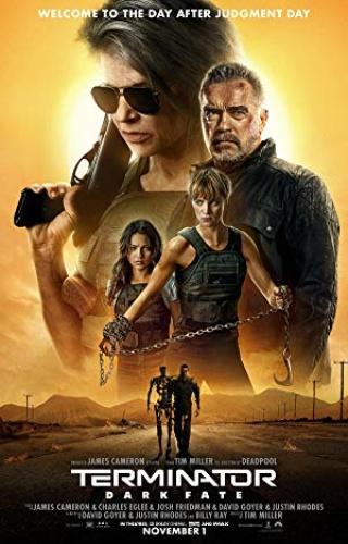 Terminator  Dark Fate (2019)720p BDRip - HQ Line Auds - Tamil + Telugu + Hin + En...