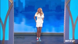Wendy Williams Massive Cleavage and Legs! WHAT A COMEBACK! (HQ)