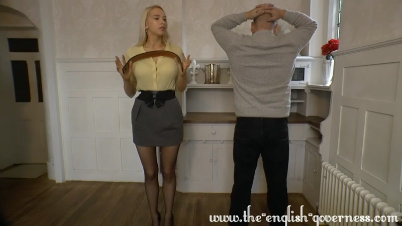 Miss Kenworthy starring in video (A HARSH Strapping Across The Bare sShould Do The Trick) [HD 720P]