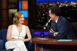 Jessica Chastain - The Late Show with Stephen Colbert: June 25th 2018