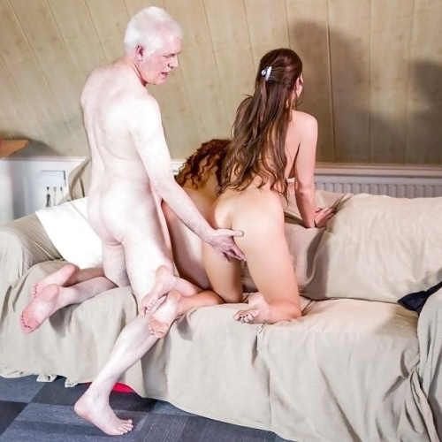 Threesome sex two girls
