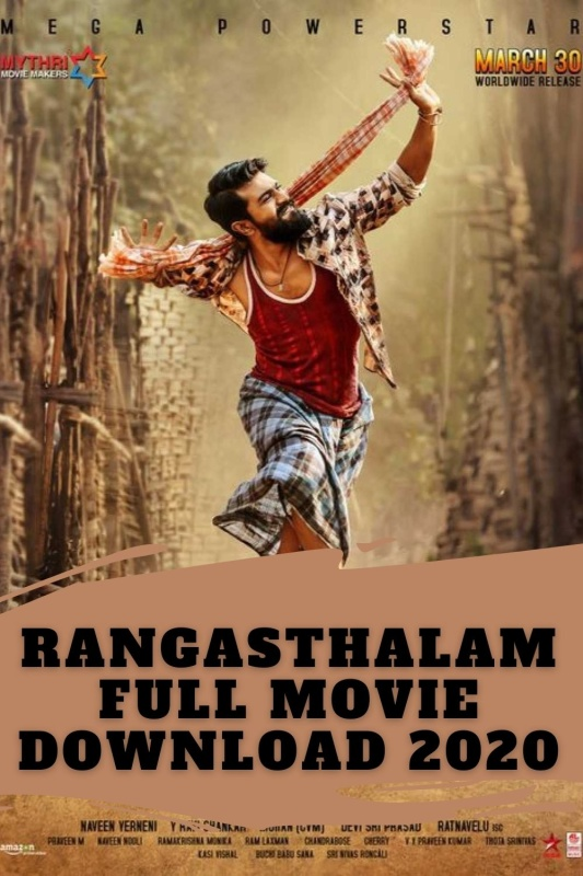 Rangasthalam full movie download in hindi dubbed filmyzilla 2018