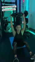 Nicole Scherzinger - Workout 18/3/2020