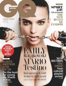 GQ Magazine - September 2015 UK