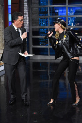 Miley Cyrus - The Late Show with Stephen Colbert: January 26th 2018