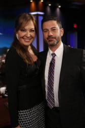 Allison Janney - Jimmy Kimmel Live: February 20th 2018