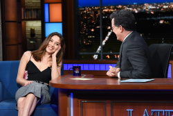 Aubrey Plaza - The Late Show with Stephen Colbert: April 13th 2018