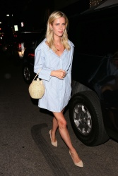 Nicky Hilton - Leaving Madeo Restaurant in Beverly Hills 08/08/2018