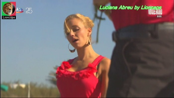 Luciana Abreu sensual na novela Sol Inverno